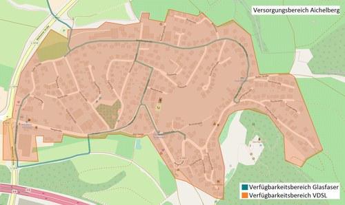 Versorgungsbereich Aichelberg